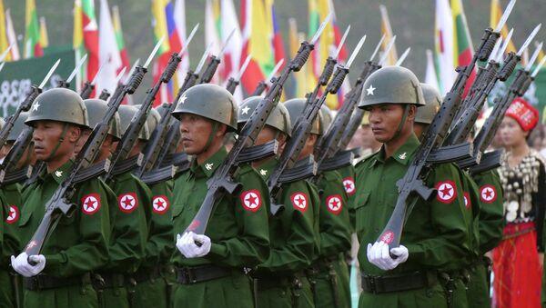 ミャンマー兵士 - Sputnik 日本
