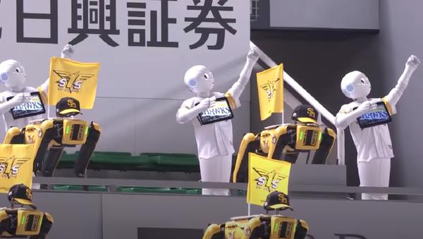 ペッパー君とロボット犬「Spot」 野球応援に駆け付ける - Sputnik 日本