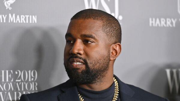 American rapper Kanye West - Sputnik 日本