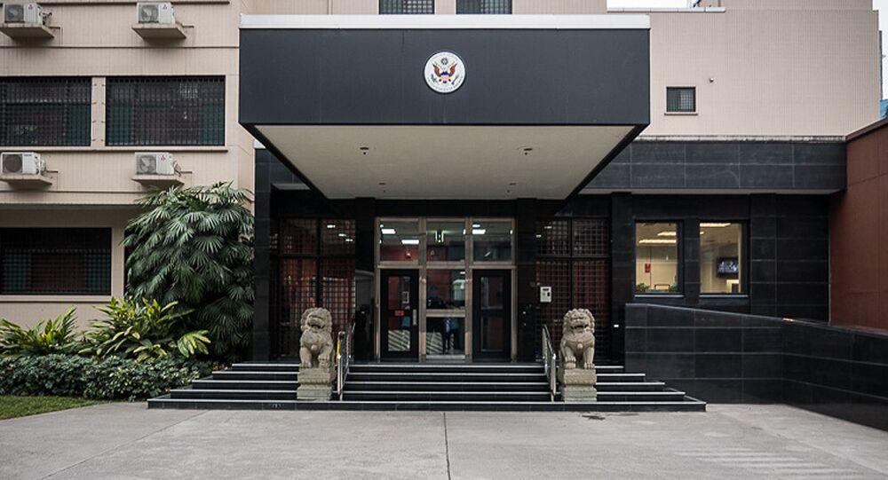 中国、成都の米国総領事館閉鎖を求める
