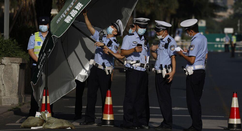 中国 警察官