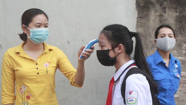 ベトナムの中学生のチェック - Sputnik 日本