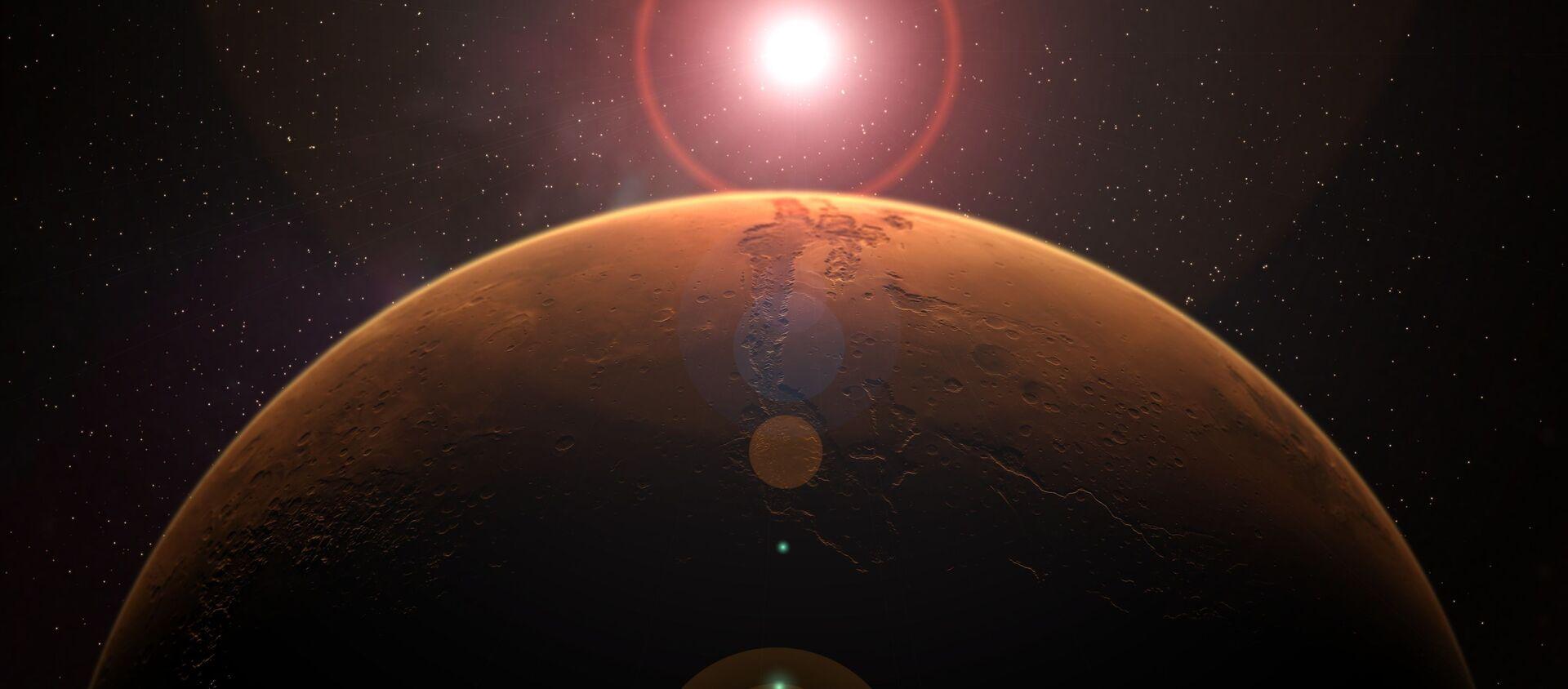 中国 2033年には火星有人ミッション始動へ - Sputnik 日本, 1920, 26.06.2021