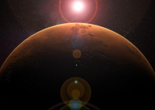 中国 火星探査車「祝融」撮影の火星画像を公開