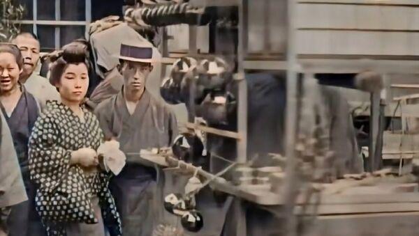 100年前の東京の白黒映像がカラーで蘇る ロシア人技術者がAIを駆使 - Sputnik 日本