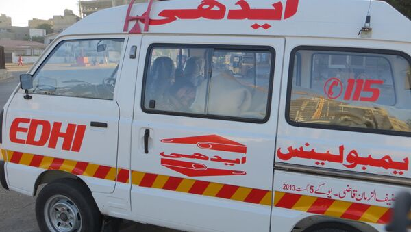 Карета скорой помощи в Пакистане - Sputnik 日本
