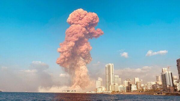 レバノンの首都ベイルートで大爆発が発生 - Sputnik 日本