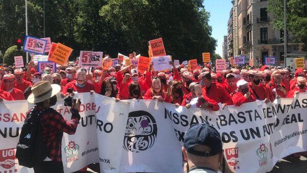 従業員らのストライキ - Sputnik 日本