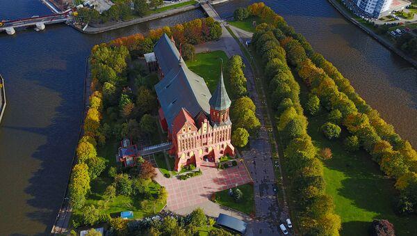 ロシアの港湾都市、カリーニングラードにあるケーニヒスベルク大聖堂 - Sputnik 日本