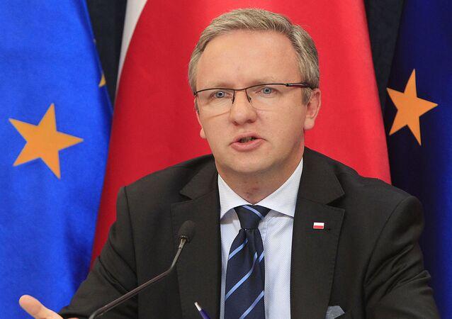 ポーランド大統領府のクシシトフ・シチェルスキ国務大臣