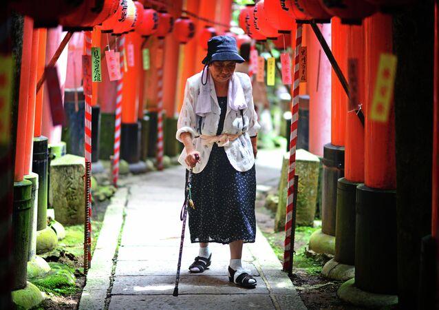 Bà cụ Nhật Bản