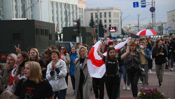 ベラルーシ抗議デモ - Sputnik 日本