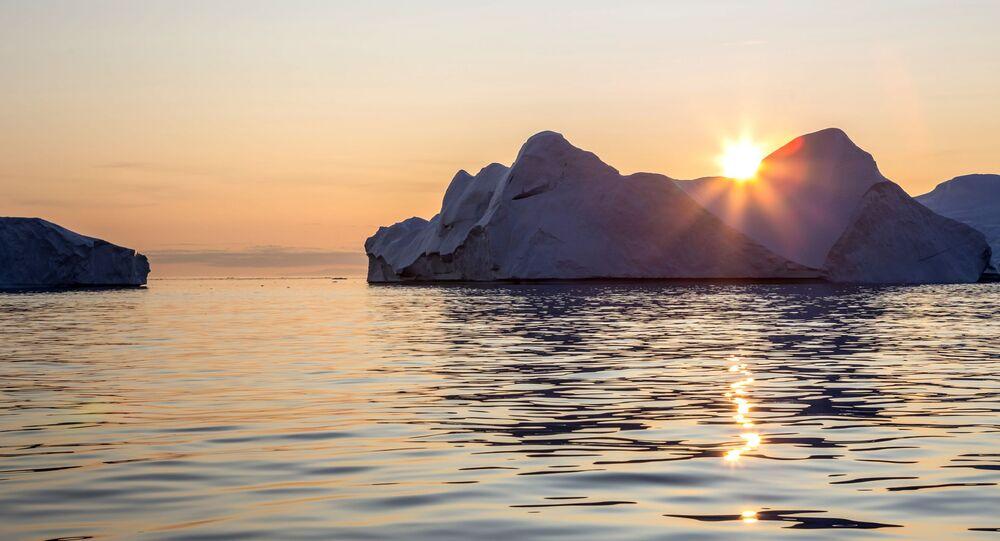 世界最大の氷山が溶解