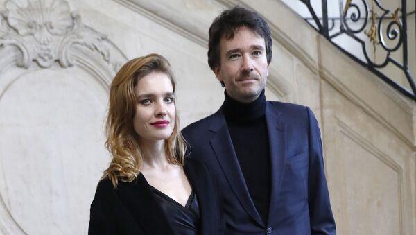 Российская модель Наталья Водянова и французский бизнесмен Антуан Арно в Париже. 2018 - Sputnik 日本