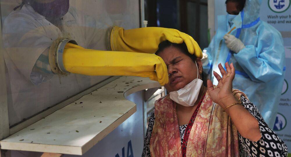 米国とEU コロナ感染深刻化のインドに支援を表明