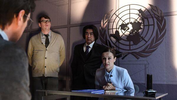 Главное фото ロシアの巨匠が手がけるSF映画に日本人俳優の木下さん出演 - Sputnik 日本