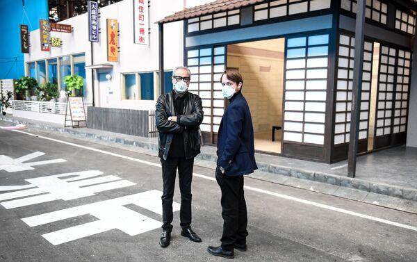 日本の通りでの撮影 - Sputnik 日本