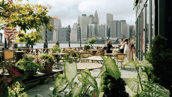 Вид на Манхэттен с Бруклина - Sputnik 日本