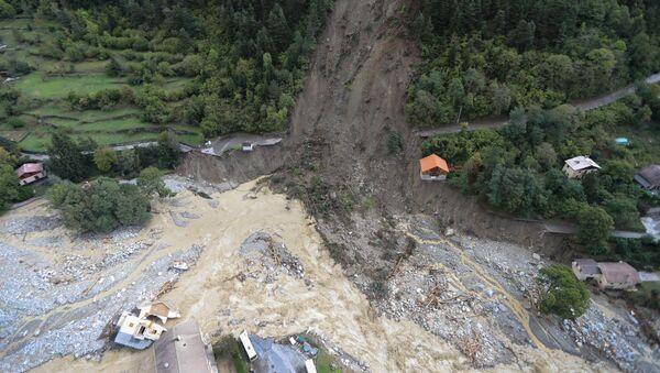 Последствия наводнения на юго-востоке Франции - Sputnik 日本