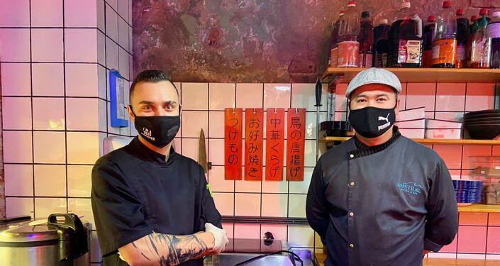 日本食シェフのお二人