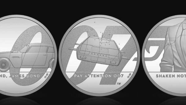 ジェームズ・ボンドを記念したコイン - Sputnik 日本
