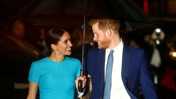 ヘンリー王子と妻メーガン妃 - Sputnik 日本