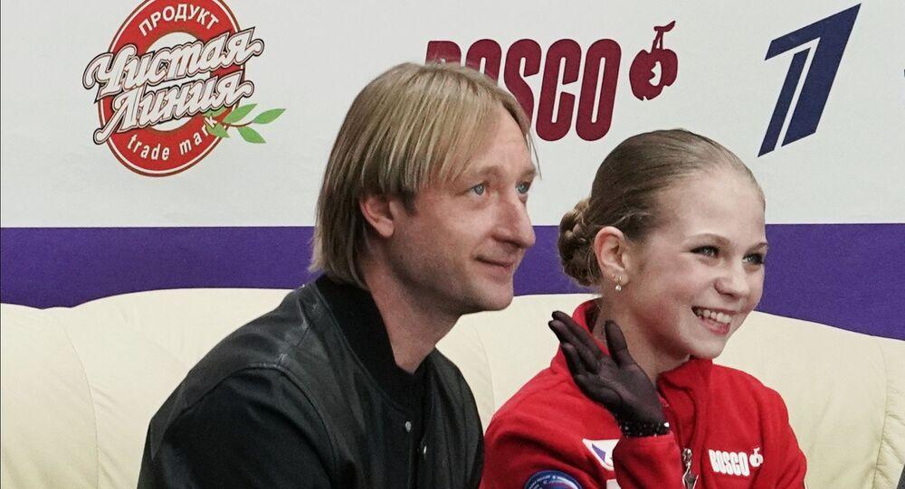 トルソワとプルシェンコ