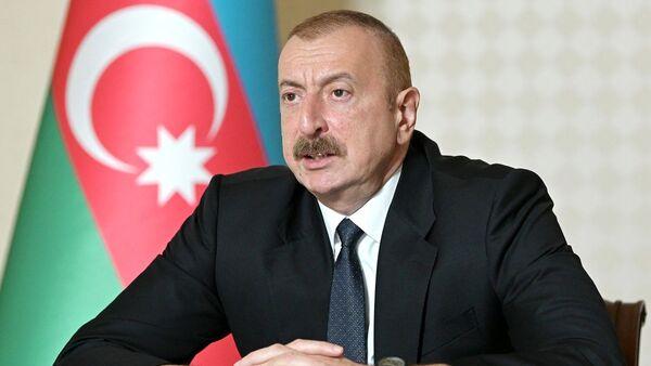 Президент Азербайджана Ильхам Алиев - Sputnik 日本