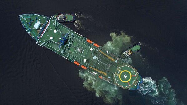 世界最強の砕氷船がロシア艦隊に加わる - Sputnik 日本