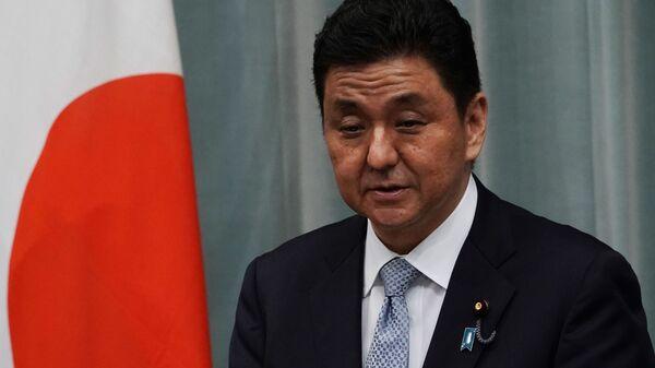 Министр обороны Японии Нобуо Киси в Токио  - Sputnik 日本