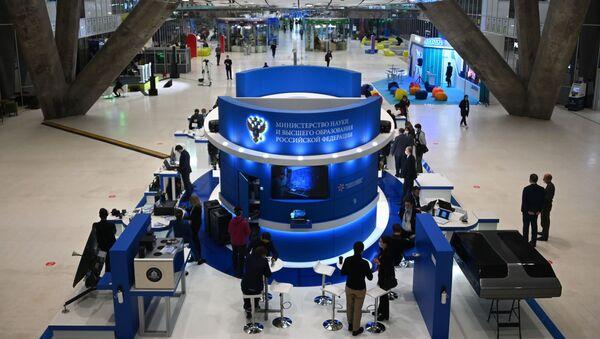 На открытии Московского международного форума Открытые инновации в инновационном центре Сколково - Sputnik 日本