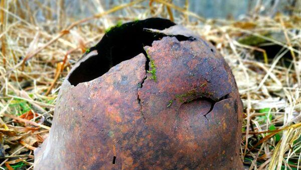サハリン島の戦場で見つかった日本兵士の装備品 - Sputnik 日本