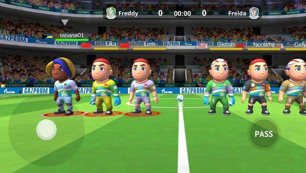 Футбол для дружбы. Газпром - Sputnik 日本