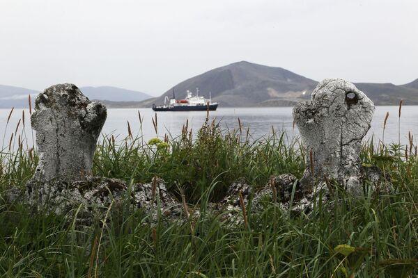 チュクチ自治管区のイッティグラン島にある古代エスキモーの建築物「鯨の小路」 - Sputnik 日本