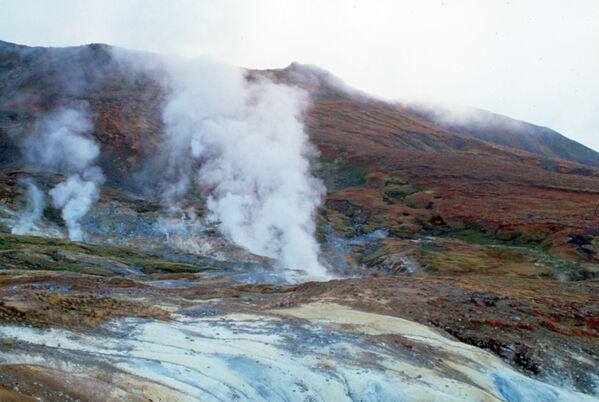 カムチャツカ半島最南端の活火山、カムバリナヤ山 - Sputnik 日本
