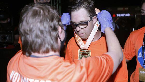 米フロリダ ダウン症候群のスポーツマンとして初 トライアスロン完走 - Sputnik 日本