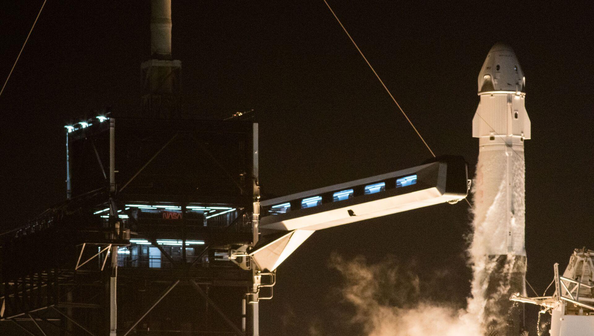 「クルードラゴン」 - Sputnik 日本, 1920, 09.10.2021