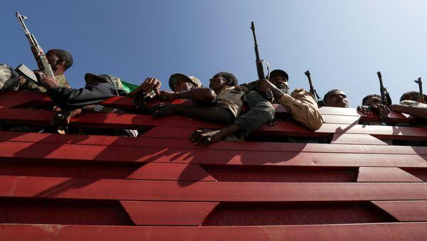 エチオピア、アムハラの民兵 - Sputnik 日本