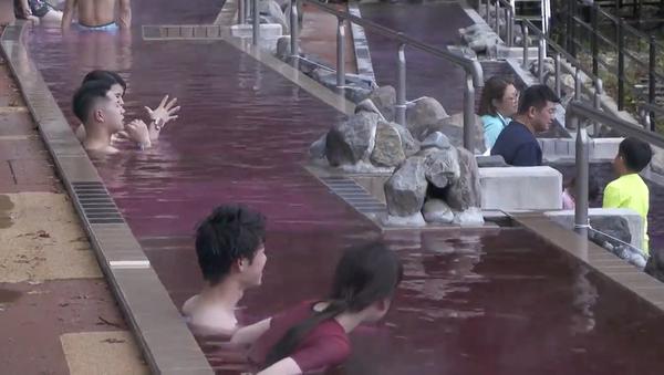 ワイン好きにはたまらない 箱根の「ボージョレ・ヌーボー風呂」 - Sputnik 日本
