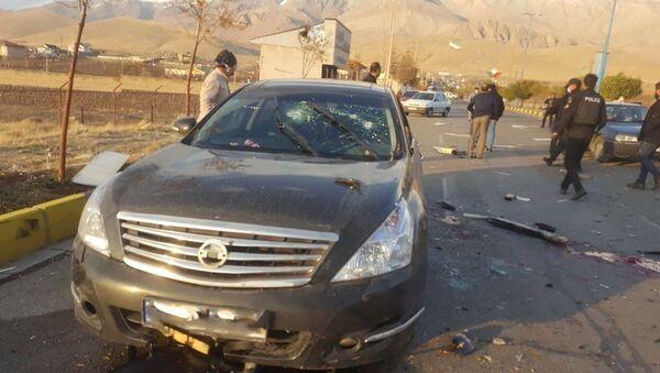 イランの核物理学者を殺害した武器は衛星制御されていた=イランのテレビ局 - Sputnik 日本