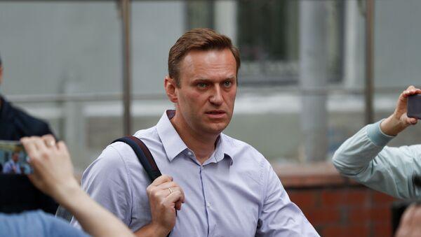 Блогер Алексей Навальный в Москве - Sputnik 日本