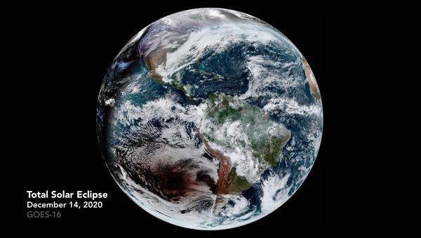 地球に映る月の影 - Sputnik 日本