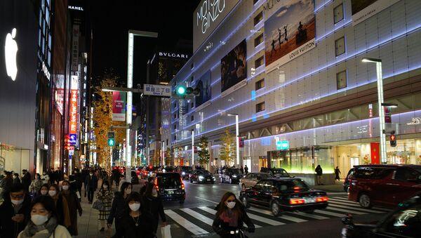 東京・銀座の街の様子 - Sputnik 日本