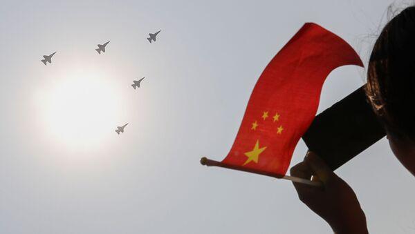 中国の旗(アーカイブ写真) - Sputnik 日本