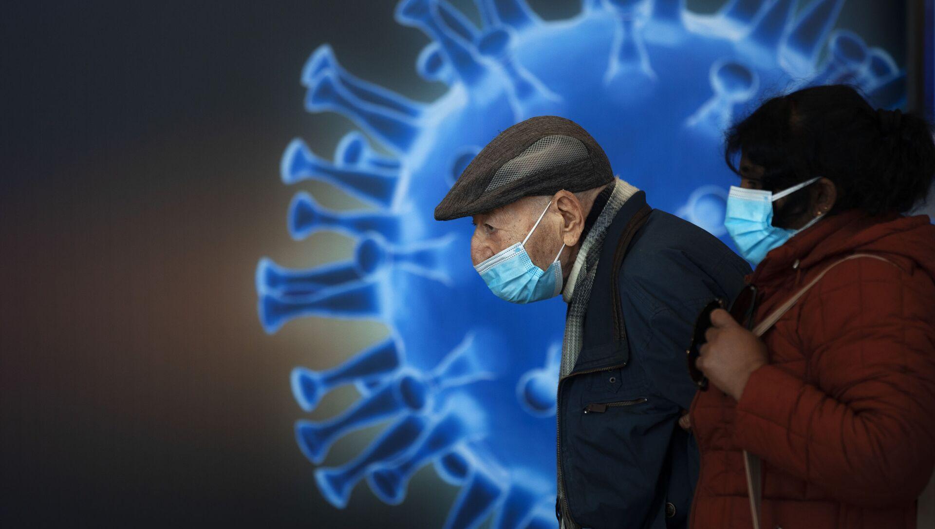 В центре вакцинации против COVID-19 в Иерусалиме - Sputnik 日本, 1920, 09.03.2021