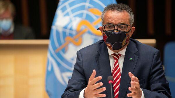 WHOのテドロス・アダノム事務局長 - Sputnik 日本