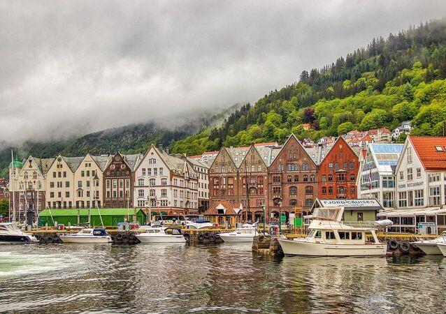 ノルウェーの都市ベルゲン