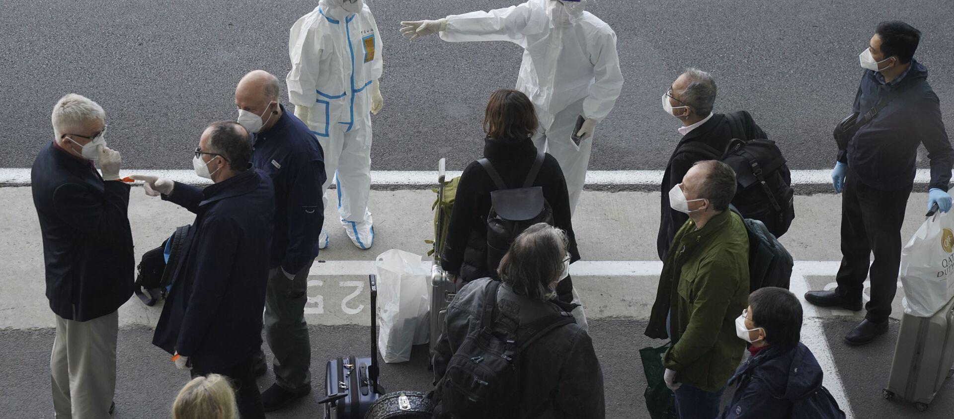 WHO武漢調査チーム COVID-19感染源の4つの説を挙げる - Sputnik 日本, 1920, 16.02.2021