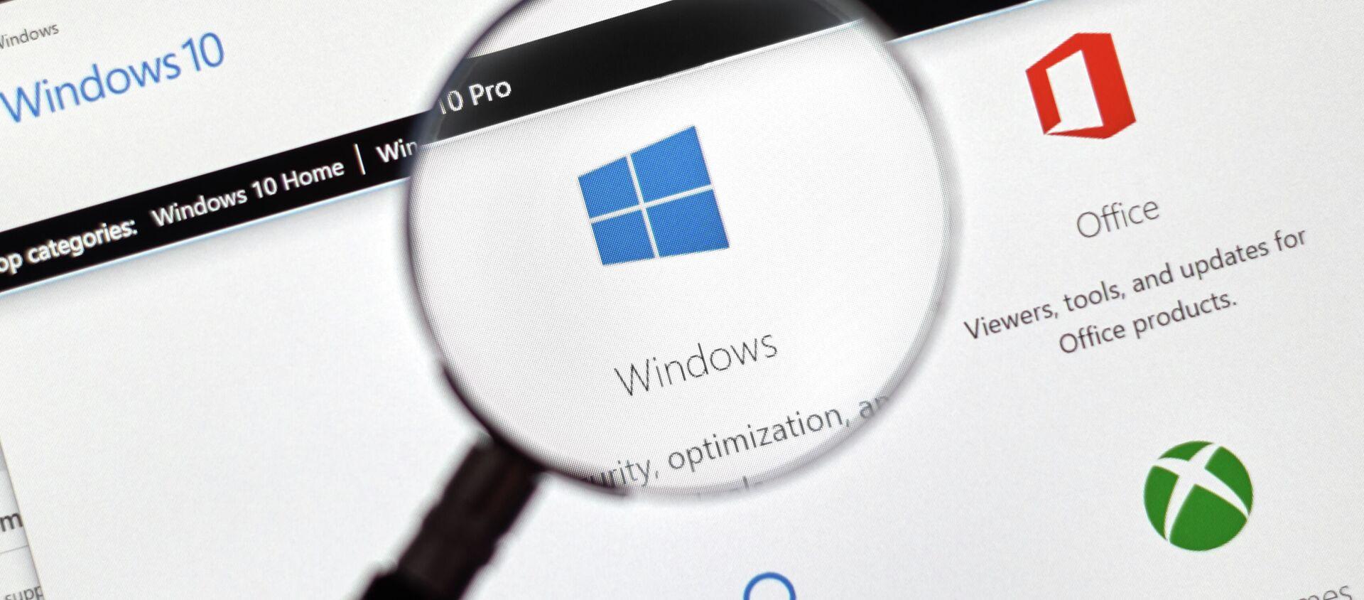 Операционная система компании Microsoft Windows 10 - Sputnik 日本, 1920, 18.05.2021