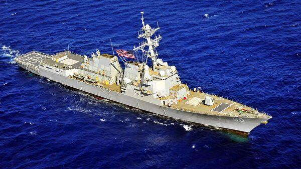 米海軍のミサイル駆逐艦「チェイフィー」 - Sputnik 日本